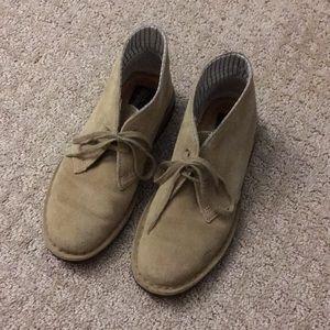Clarks Suede Desert Boots